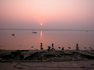 India, Benares, ambience of the Ganges
