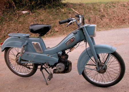 Moped 1980s