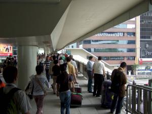 Hong Kong pedestrian gallery
