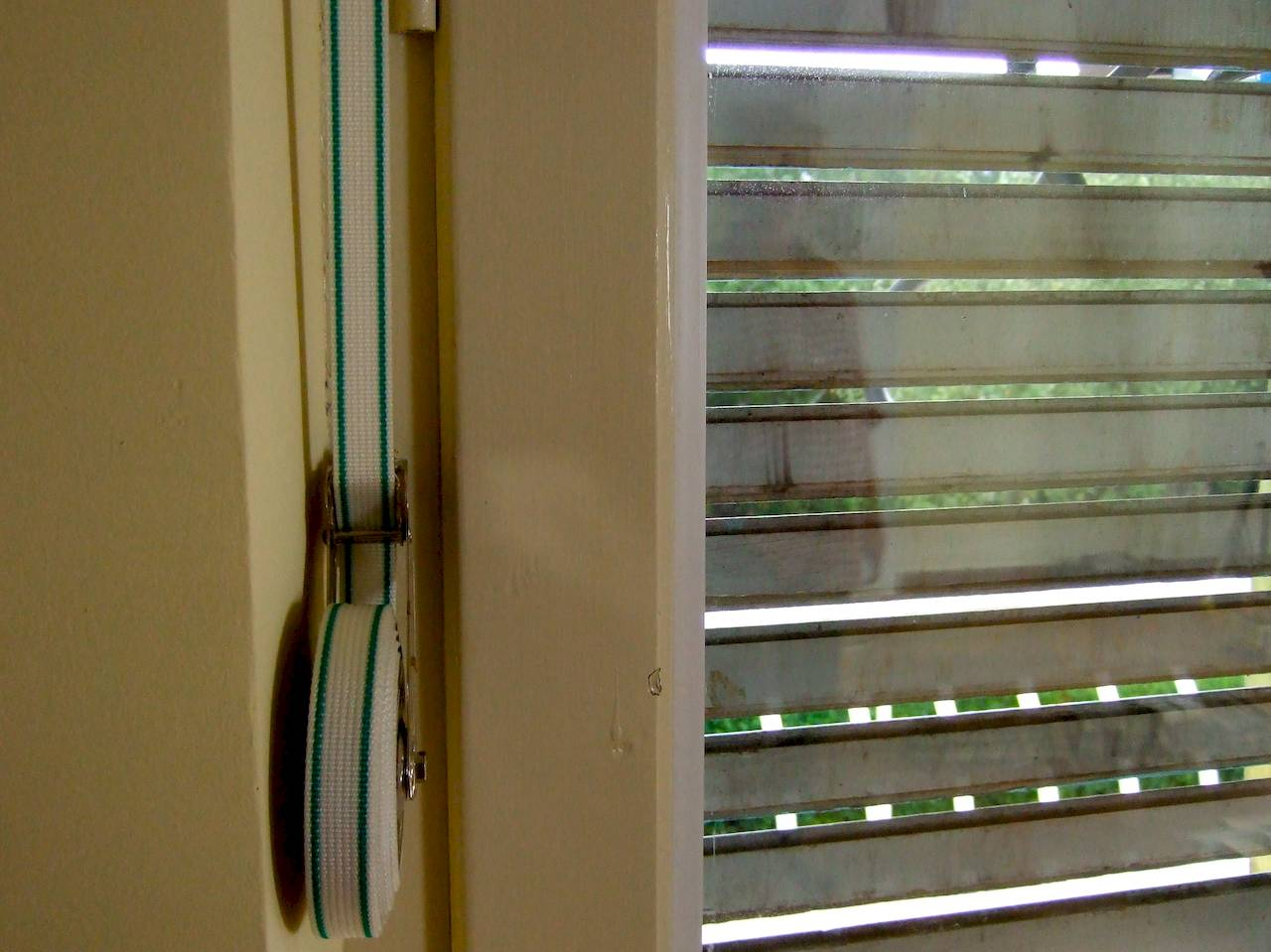 wooden mechanical shutter