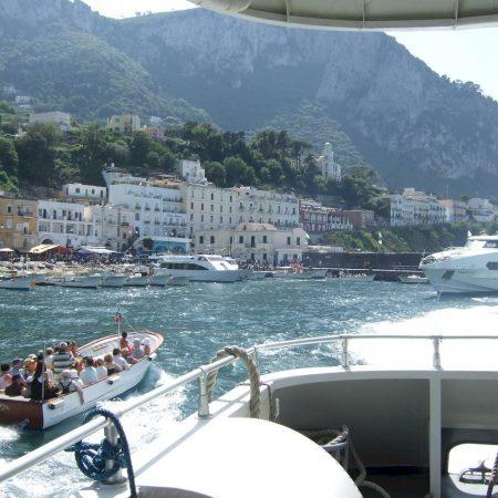 Naples Capri fast ferry
