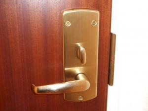 modern card door