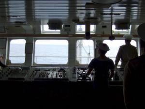 interior cargo deck