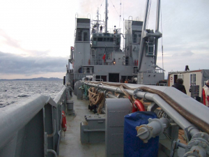 cable boat deck