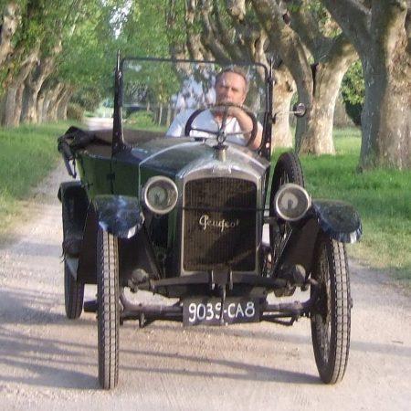 Old Peugeot 1922
