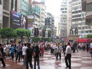 Hong Kong, public place