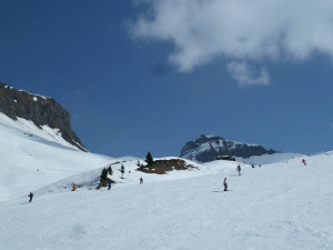 alpin ski slope