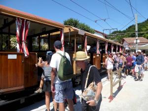 Rhune rack and pinion train