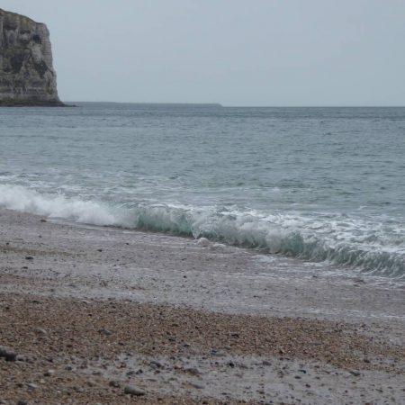 waves pebble beach