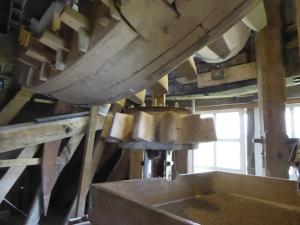 Windmill, rotating gear mechanism