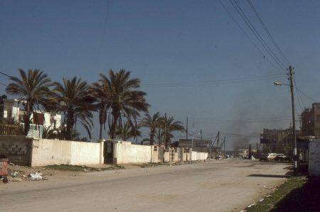 residential area Gaza